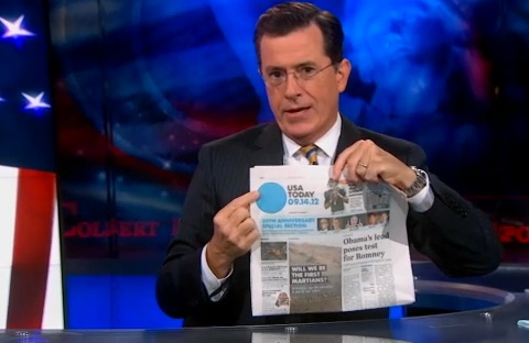 the colbert report on branding logo marketing design