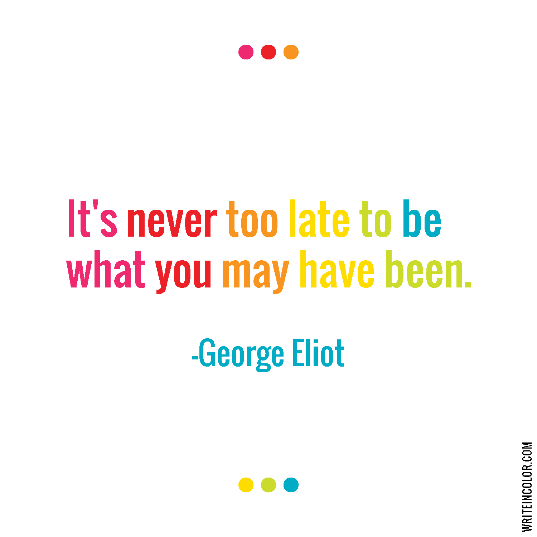 George Eliot Quote-01