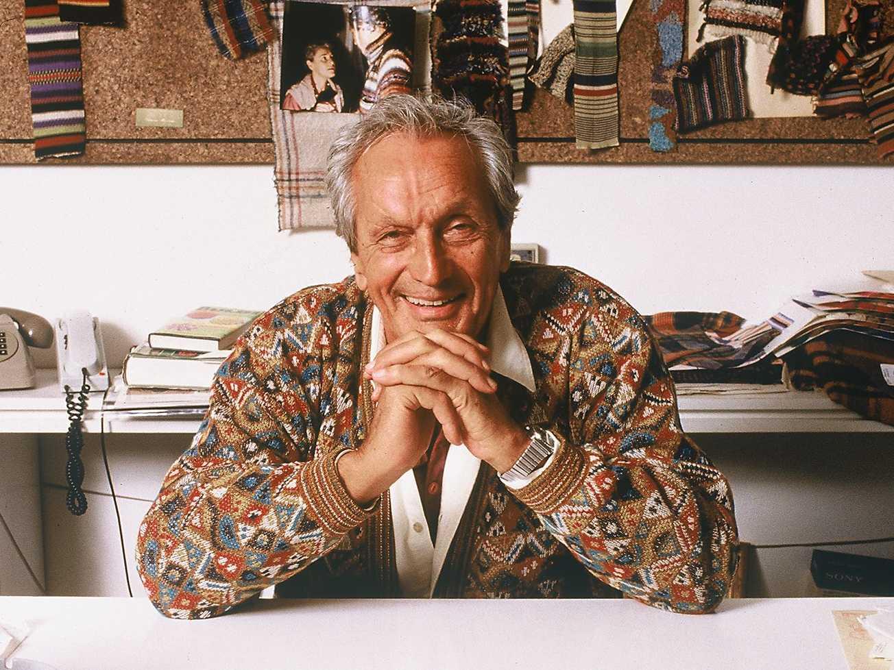 27dae37e099b Ottavio Missoni – A Colorful Icon Who Left His Signature Print On ...